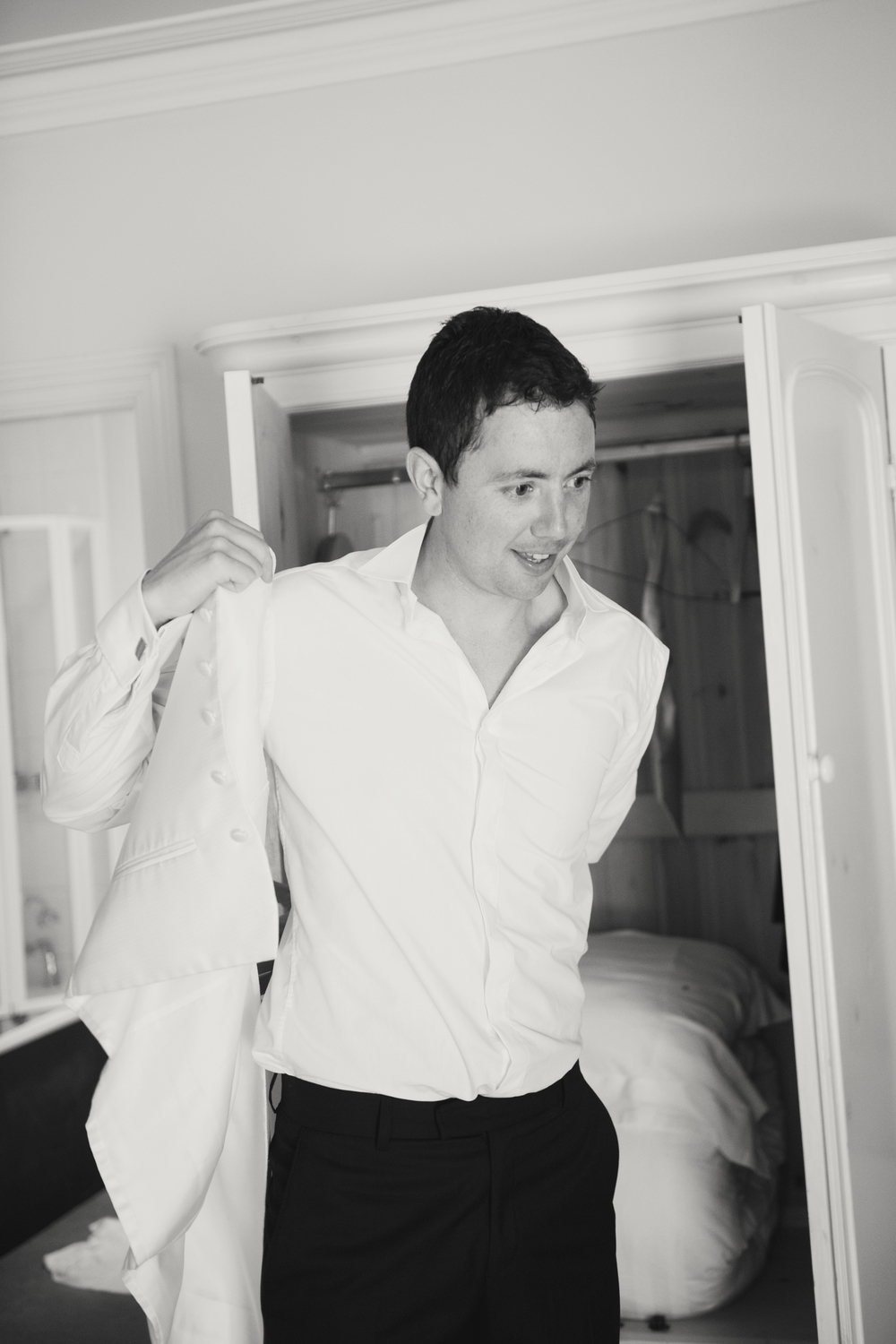 Suit by Tom Murphy's, Cork -   Photography: Weddings by KARA   © - Wedding Location: Kilshane House, Tipperary, Ireland