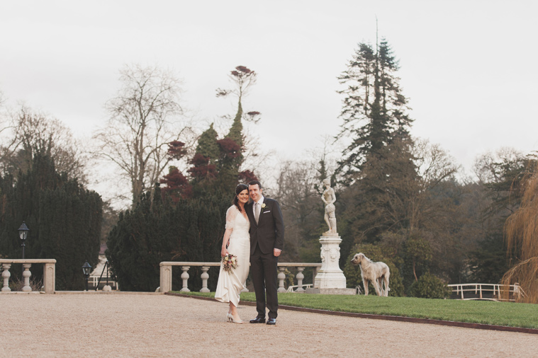 Couple in Bellingham Castle Gardens Co. Louth