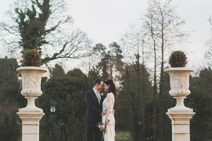 Couple in Bellingham Castle Gardens