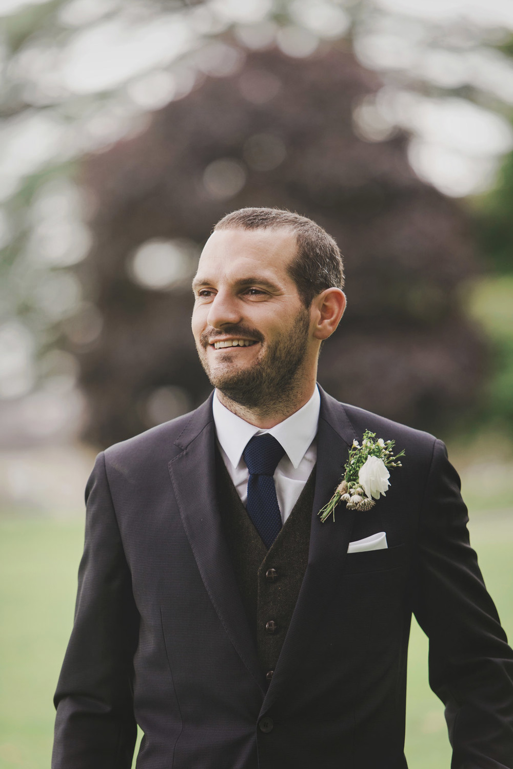 Groom in Tankardstown House Meath Wedding photographers meath ireland