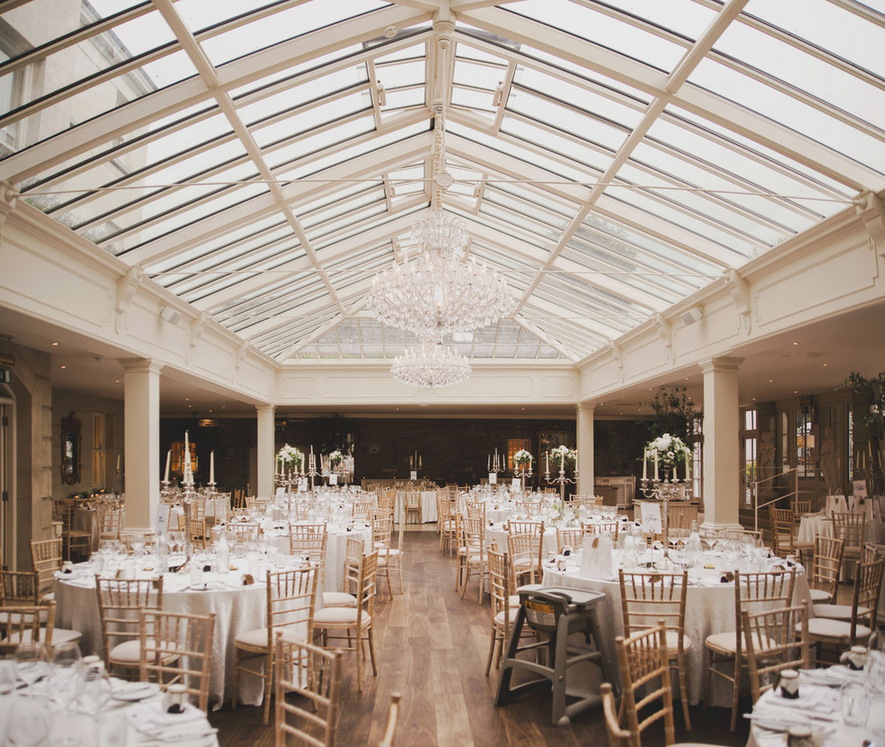Tankardstown House Dining Room Meath Wedding photographers meath ireland