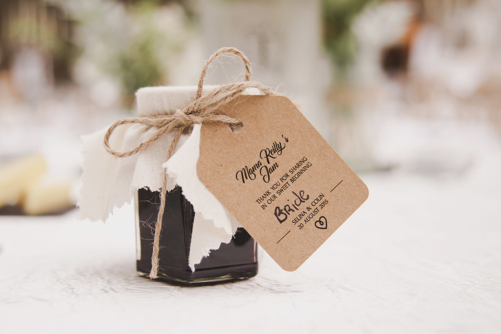 Favours at Tankardstown House Meath Wedding photographers meath ireland