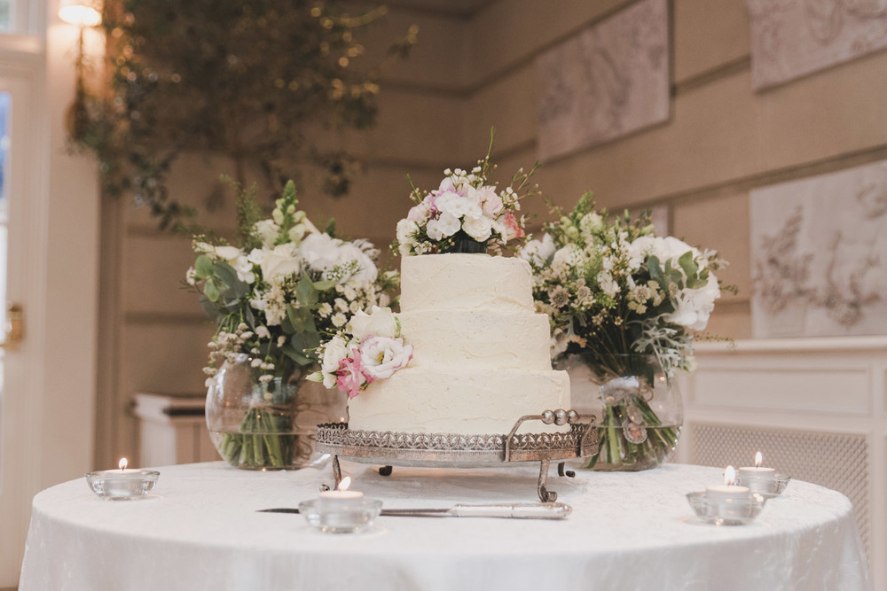 Cake in Tankardstown House Meath Wedding photographers meath ireland