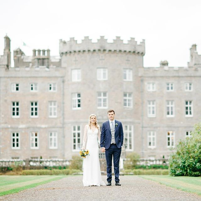 The beautiful @markreecastlesligo with these two stunners 💕 #irishwedding #irishweddingphotographer #weddingstyle #irishcastlewedding #irishcastle #weddingphotography #castlewedding