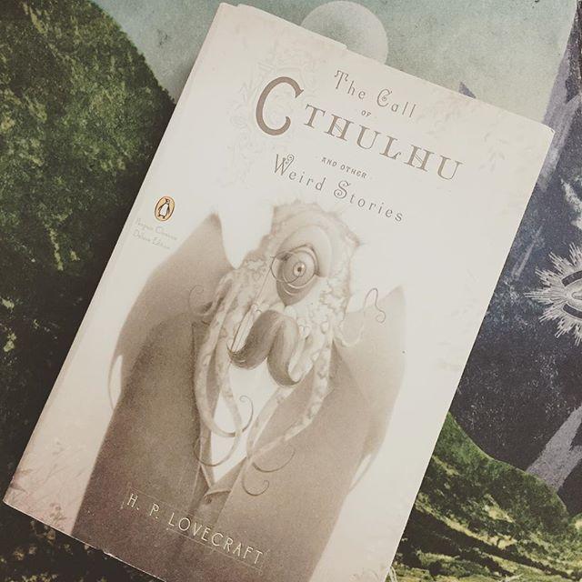Currently reading. @penguinusa #lovecraft #cthulhu #penguinclassics