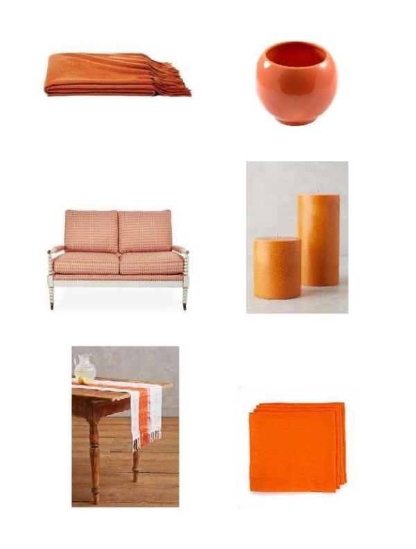 Cashmere Throw, Art Deco Vase, Ava Settee, Autumnal Pillar Candles, Table Runner, Napkin Linen