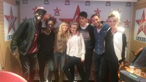 Clean Bandit at Virgin Radio.