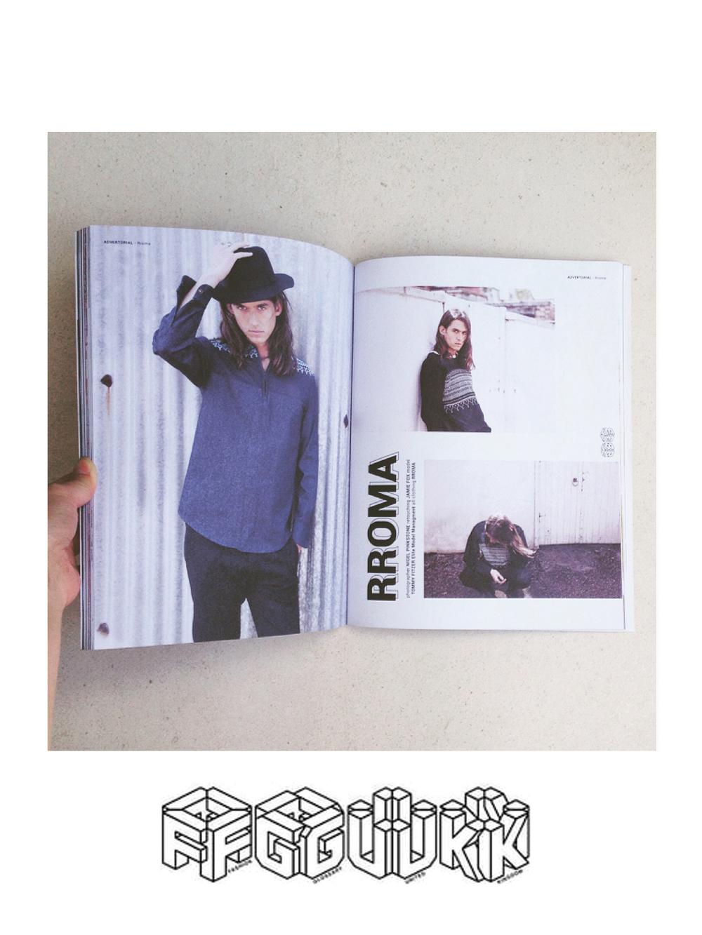 FGUK Magazine Editorial