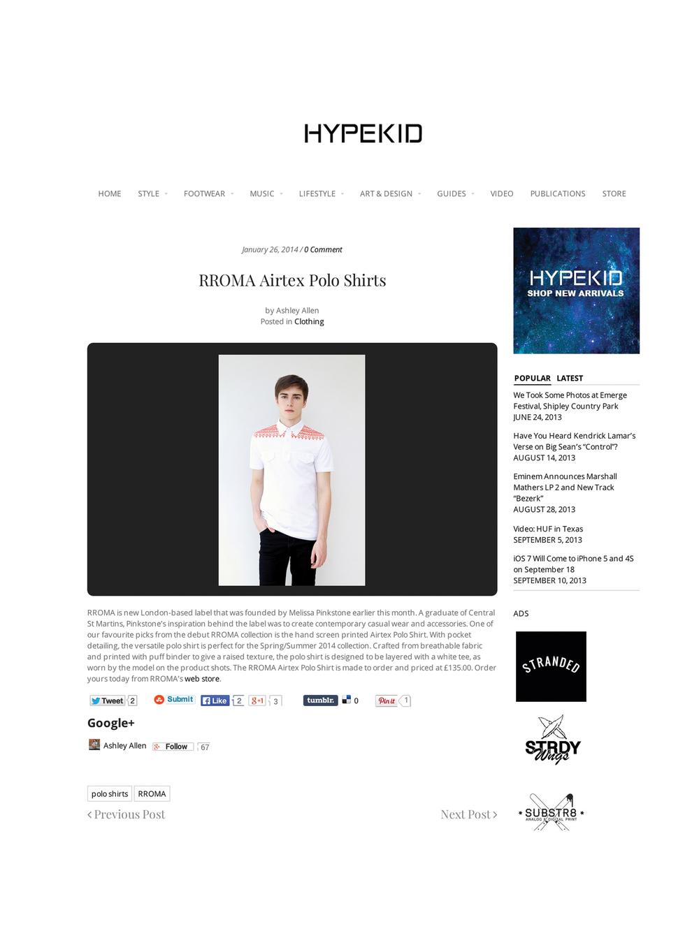Hype Kid Blog