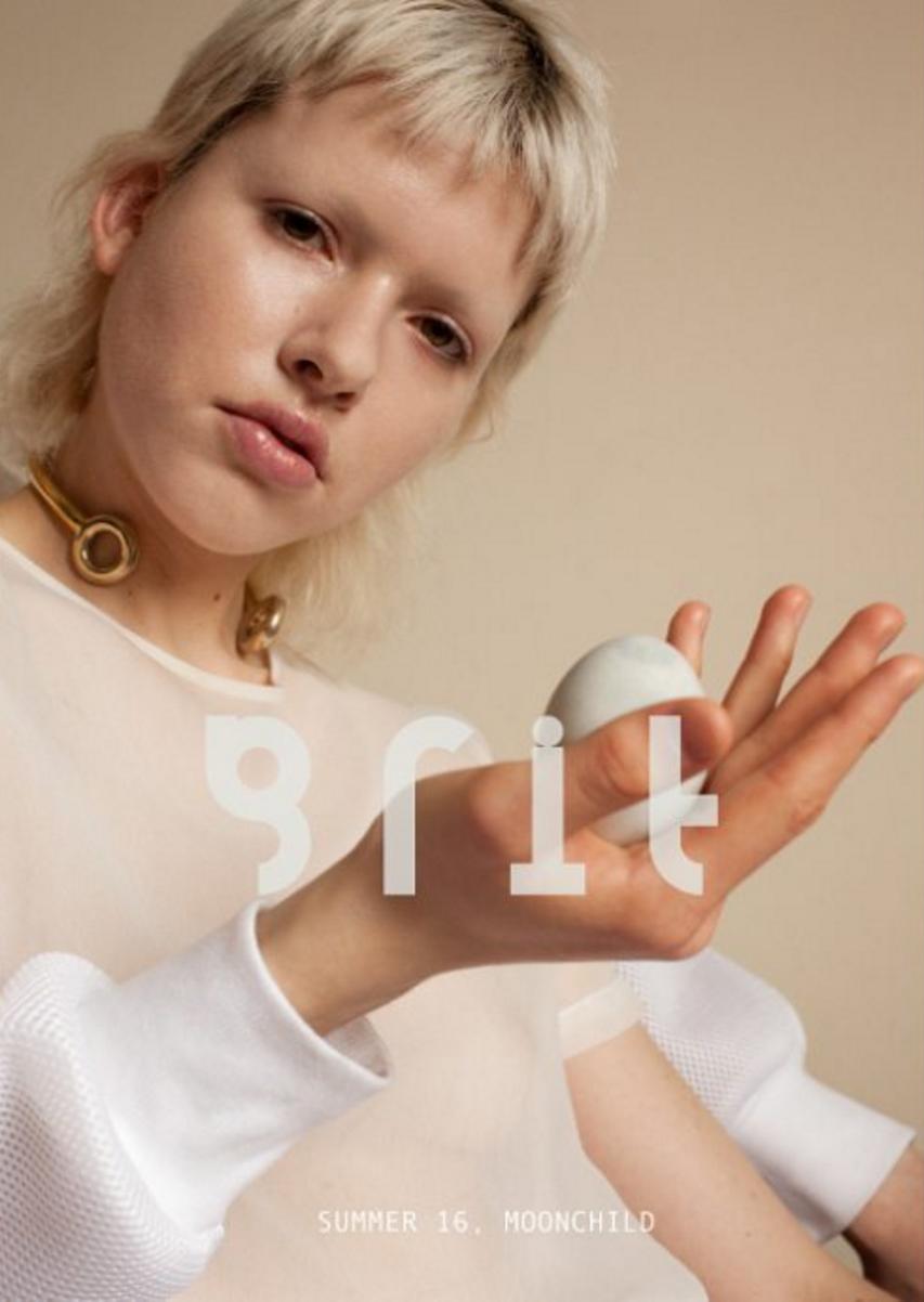 Grit Magazine Cover - Suzi Leenaars