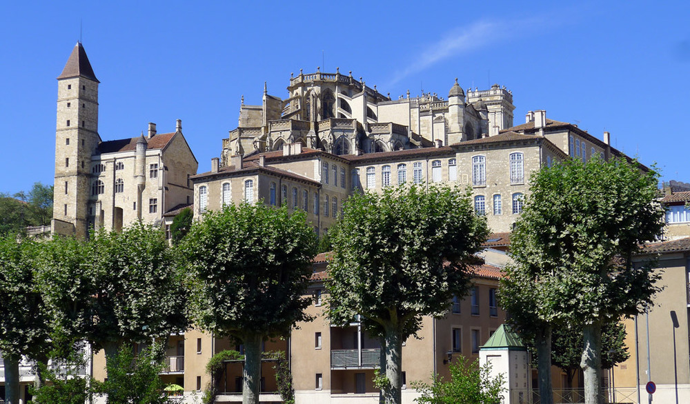 Auch (Ош) Регион Midi-Pyrénées (Миди-Пиренеи/ Юг-Пиренеи)