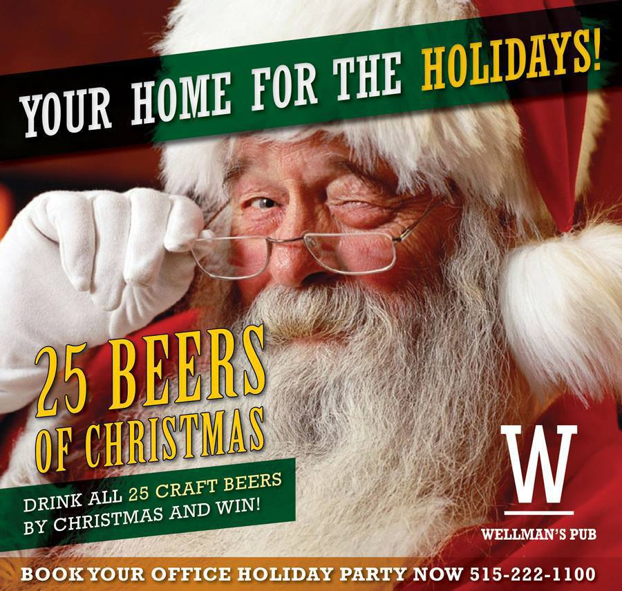 Drink all 25 Craft Beers by Christmas and WIN!