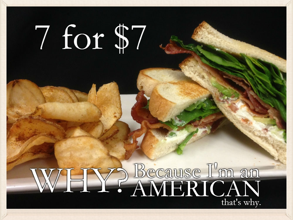 Wellman's Pub and Rooftop in West Des Moines offer 7 awesome lunch specials made for SPEED for just $7. 11am-4pm Monday-Friday.