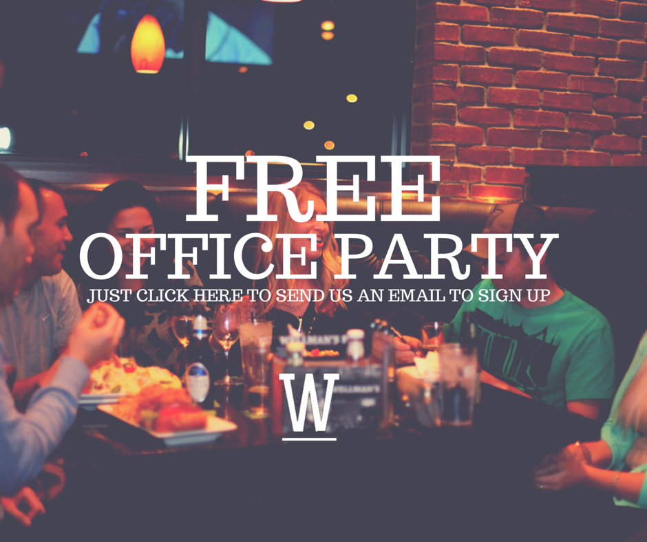 Win a Free Office Party at Wellman's Pub & Rooftop West Des Moines, IA