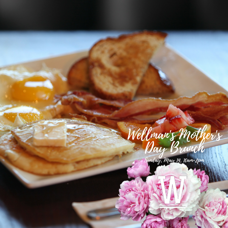 Mother's Day Brunch at Wellman's Pub & Rooftop