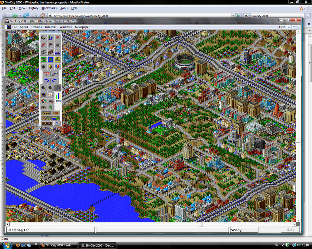 Sim City 2000 Screen Shot