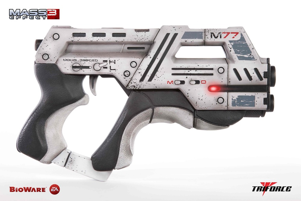 Mass Effect Carnifex Pistol Concept Art From Mass Effect 3