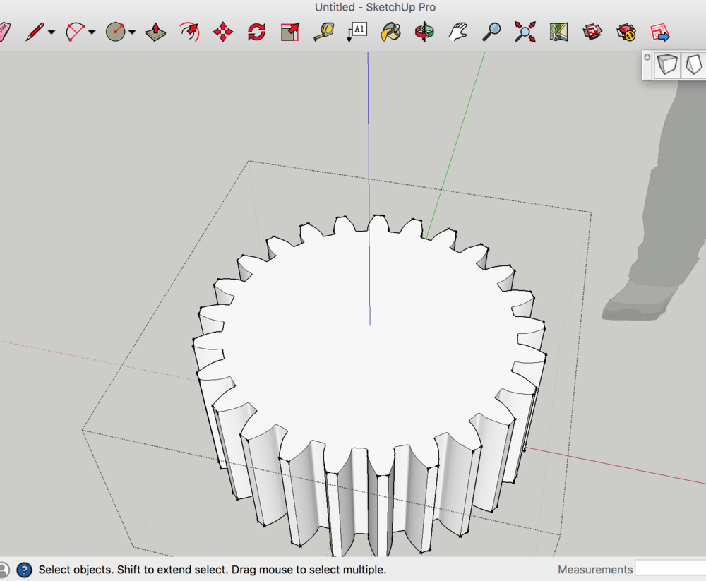 Forced perspective simcity 2000 shadow box kansas city kit company fixing the sketchup involute gear plugin pooptronica