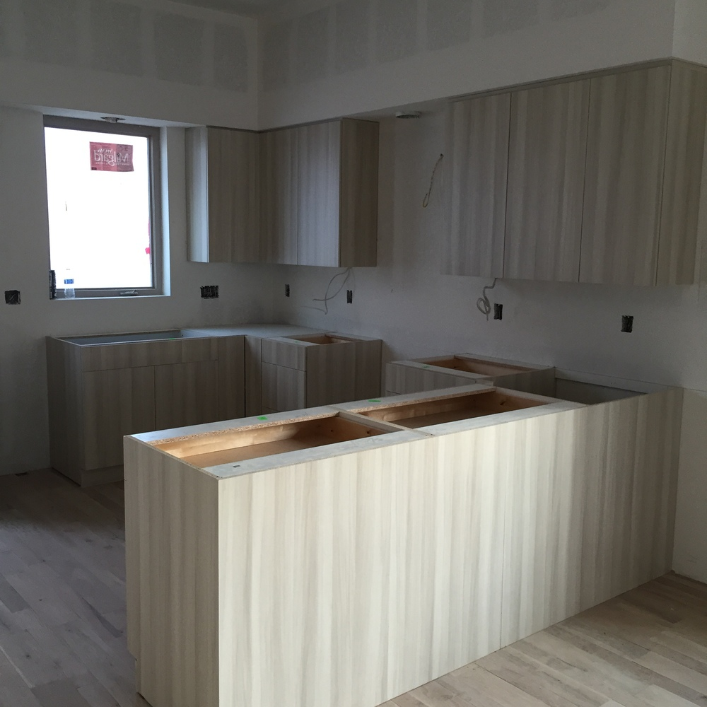 Cabinets in Building 2