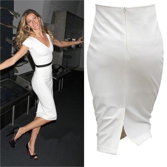 Very high waist pencil skirt – Modern skirts blog for you