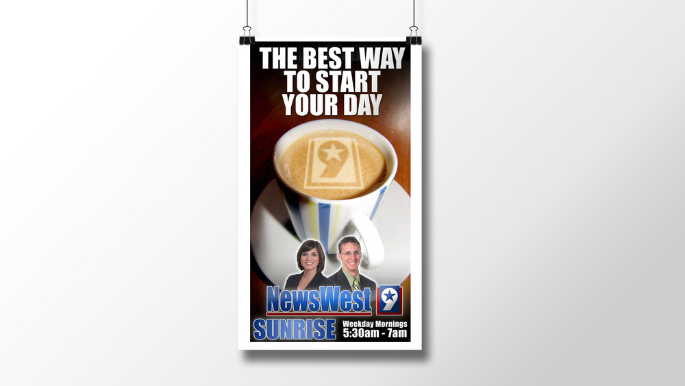 """Best Way to Start the Day"" Print Ad"