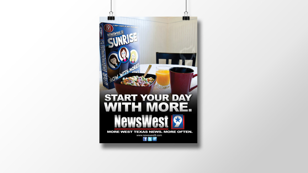 """Start With More"" Print Ad"