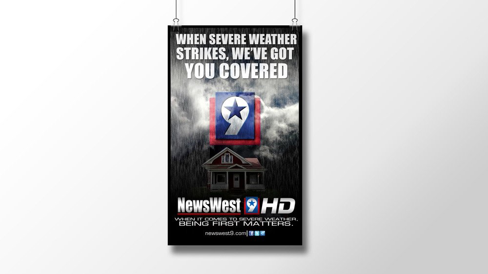"""We Got Weather Covered"" Print Ad"
