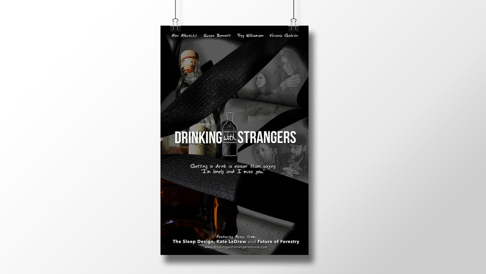 """Drinking with Strangers"" Official Poster"