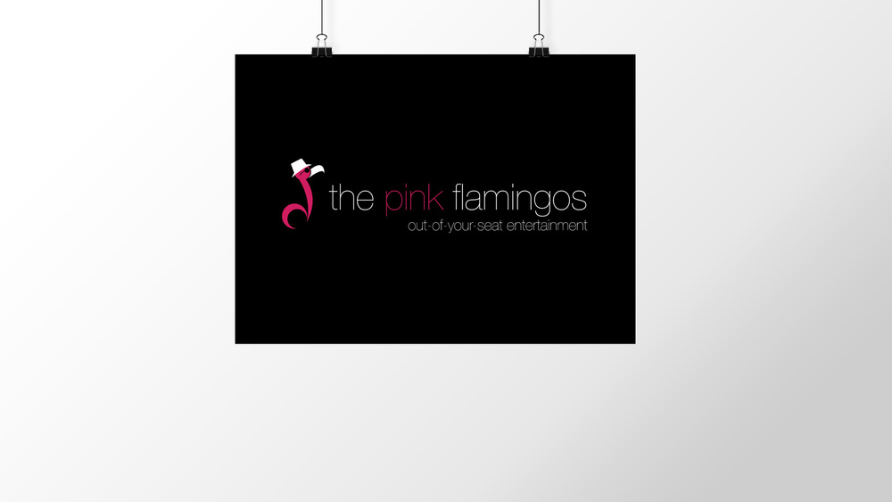 """The Pink Flamingos"" Logo"