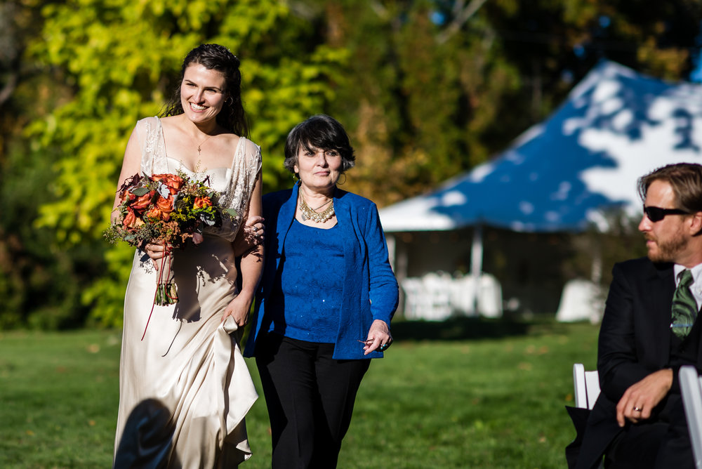 Stefy Hilmer Photography -mother and bride walking down the aisle.jpg