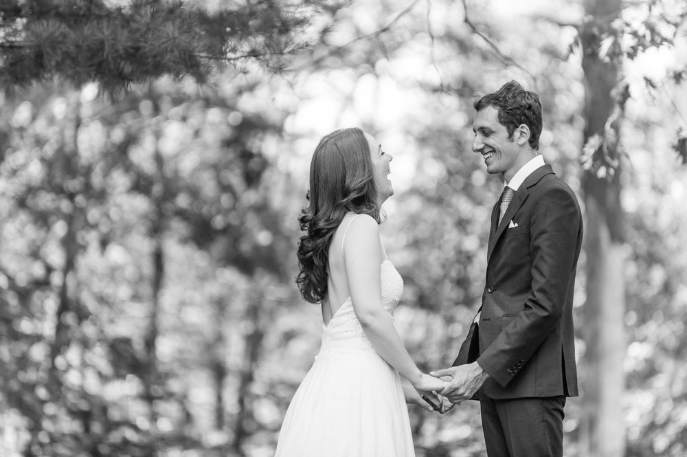 Stefy Hilmer Photograhy- bride and groom first look at Opus 40 in upstate NY.jpg