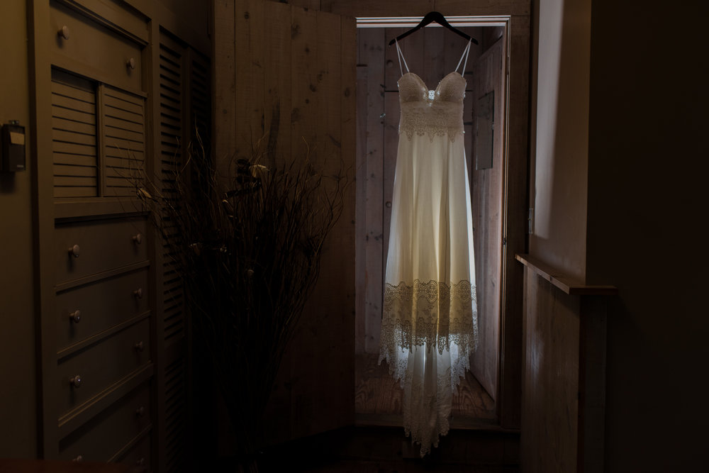 Stefy Hilmer Photography-wedding dress displayed at the Opus 40 venue.jpg