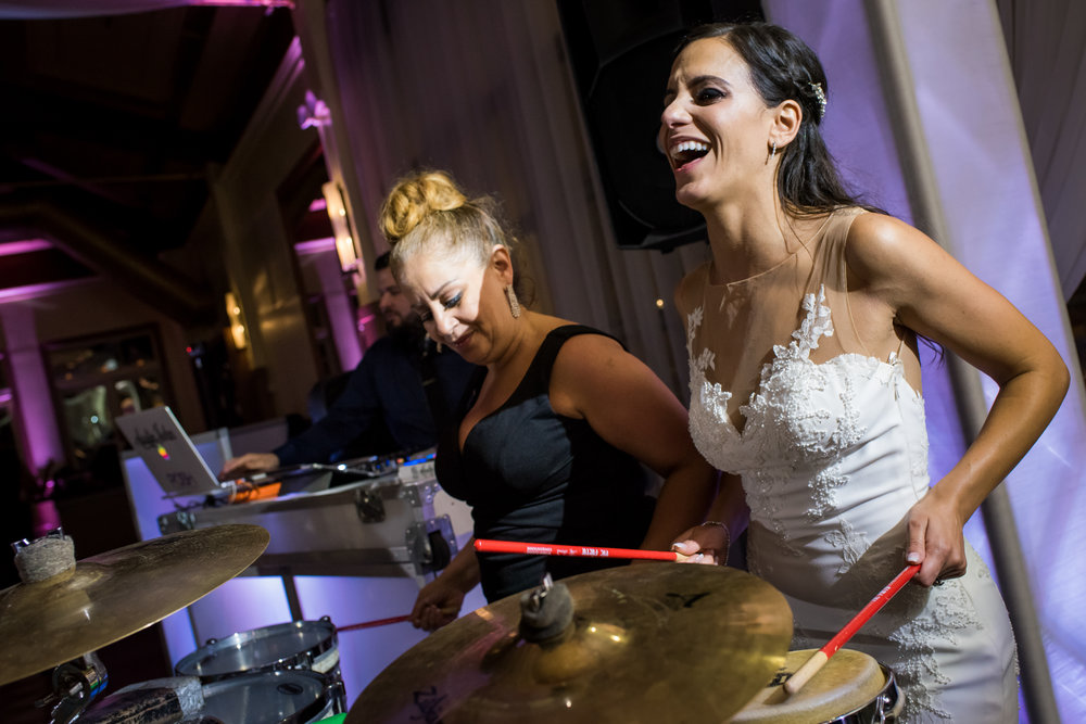 Stefy Hilmer Photography-bride playing drums during wedding reception.jpg