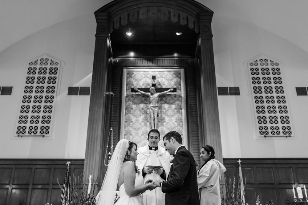 Stefy Hilmer Photography-bride and groom in front of the altar in the church.jpg
