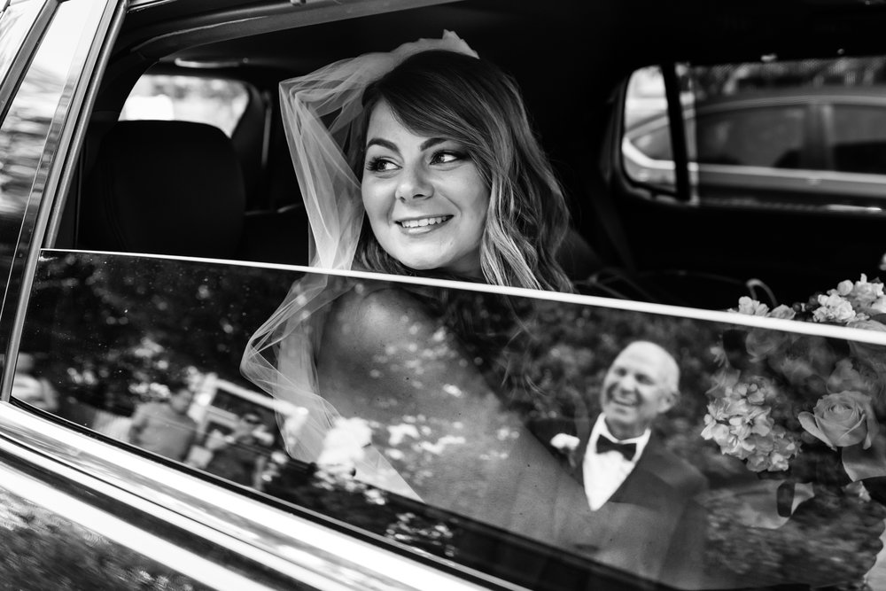 Stefy Hilmer Photography-bride arriving at the church and her dad waiting for her.jpg