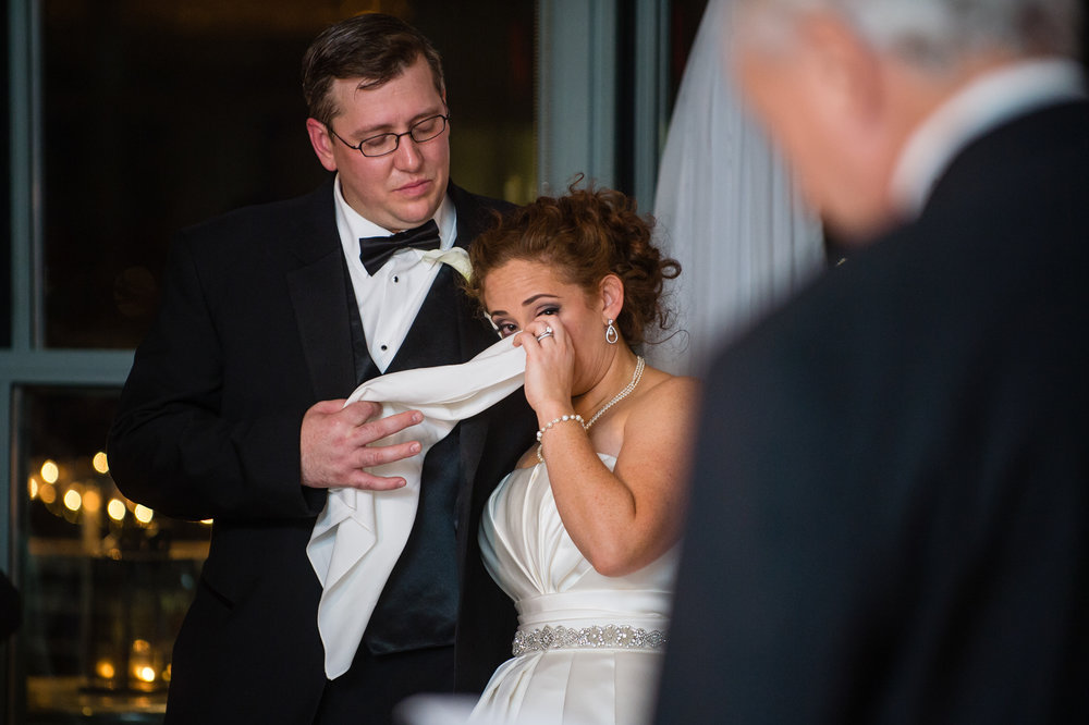 Stefy Hilmer Photography-bride listening to fathers speech at the wedding reception at Battery Gardens.jpg