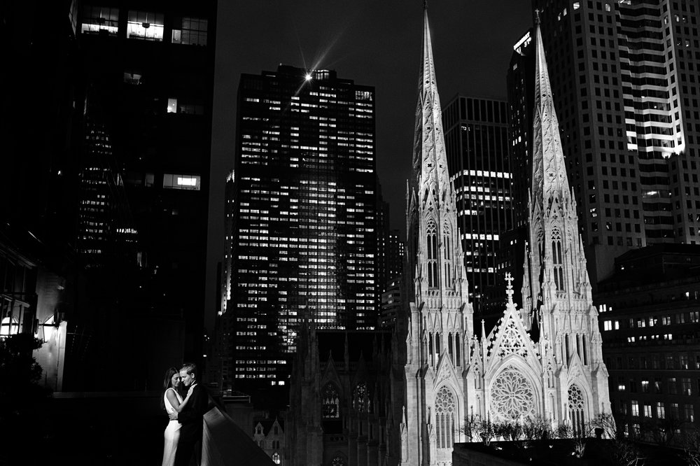 Stefy Hilmer Photography-bride and groom night portrait with st. patricks cathedral.jpg