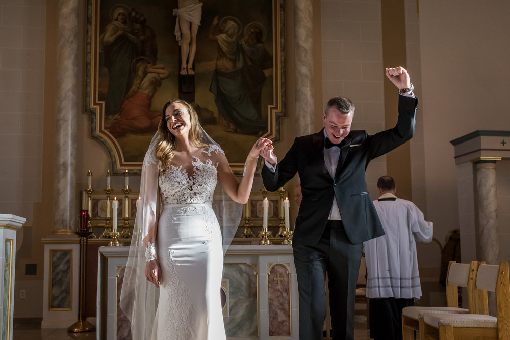 Stefy Hilmer Photography-bride and groom cheering after they said I do.jpg