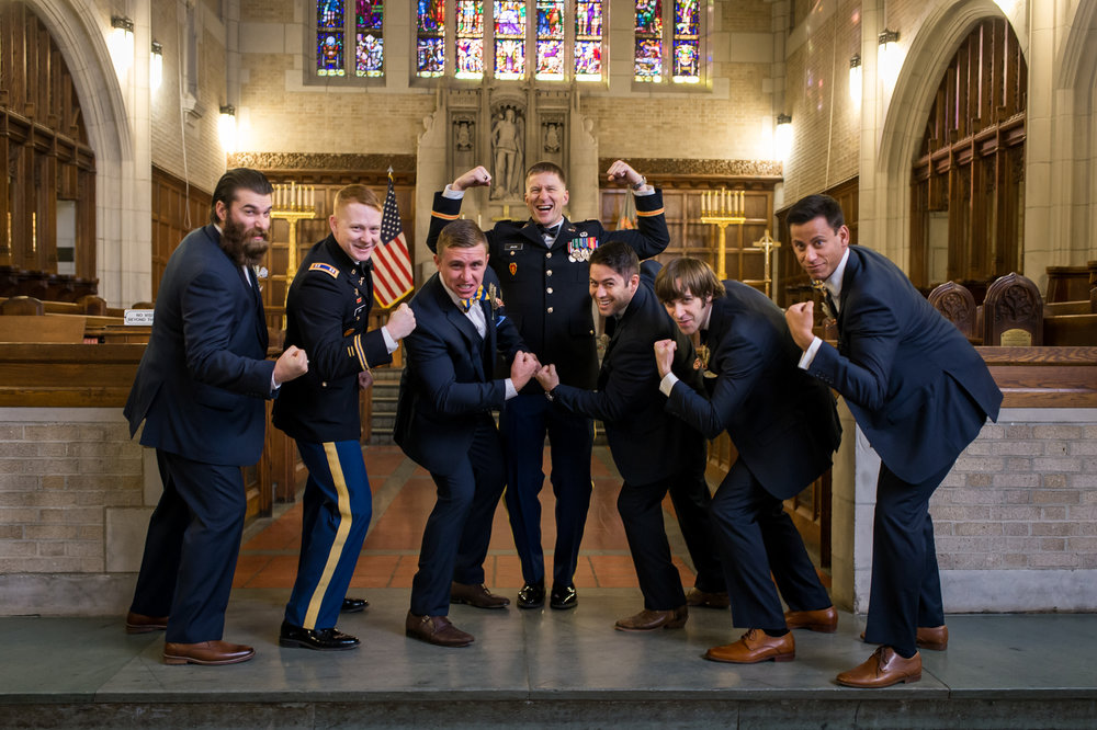 Stefy Hilmer Photography- groomsmen photo in the chapel of the West Point Military academy.jpg