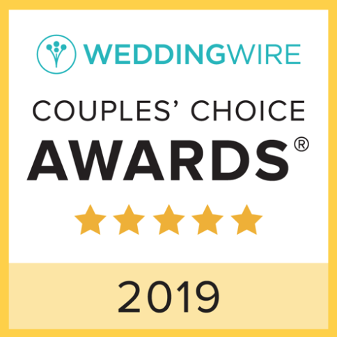 Because of our amazing couples we got awarded with the Couples Choice Award the 4th year in a row! We couldn't have done it without you! Thank you!!! xoxo