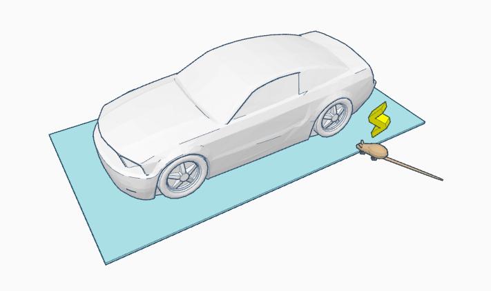 hammer technologies rat repellent for cars deterrent for rats. Black Bedroom Furniture Sets. Home Design Ideas