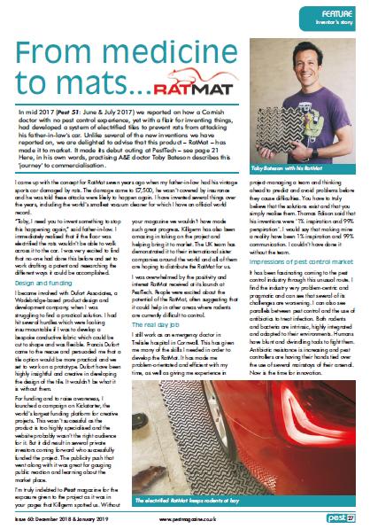 Toby Bateson RatMat Interview