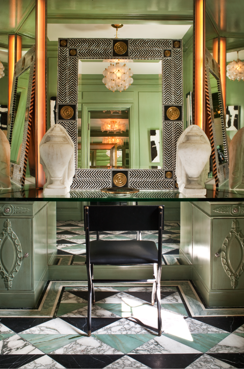Office Space Of The Day...the Mean Green