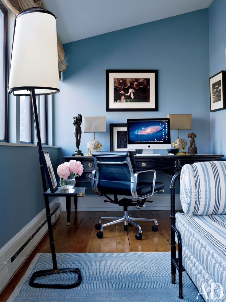 office blue AD