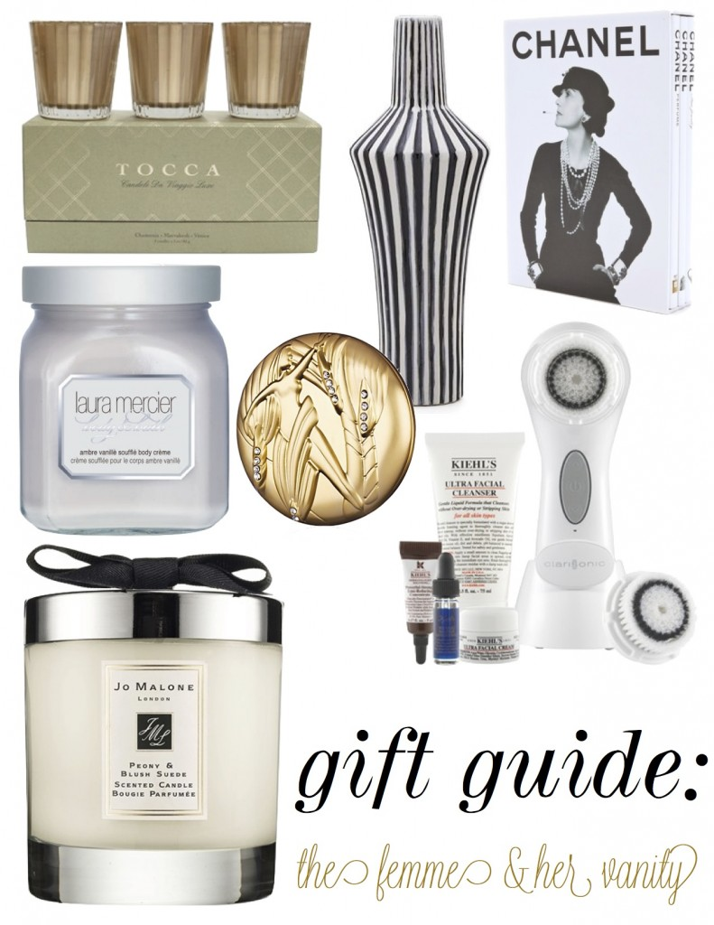 the decorista gift guide vanity