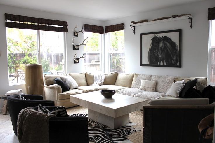 horse art modern interiors