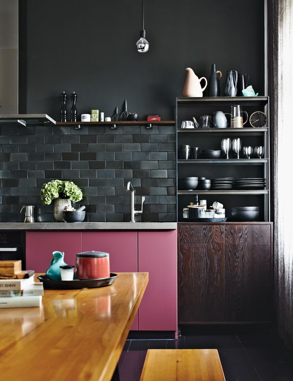 deep kitchen color