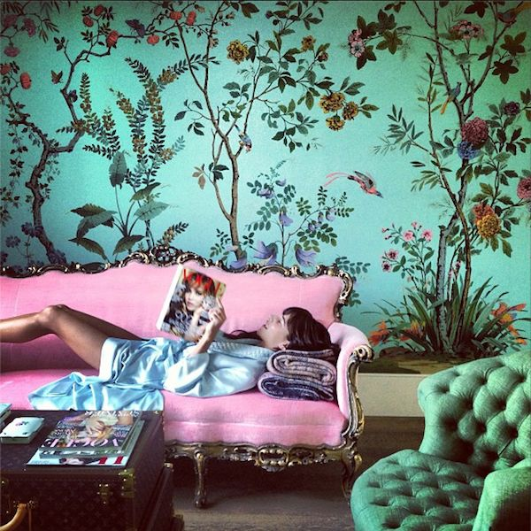 36 Living Room Decorating Ideas That Smells Like Spring: Spring Means Chinoiserie {inspired By DeGournay}