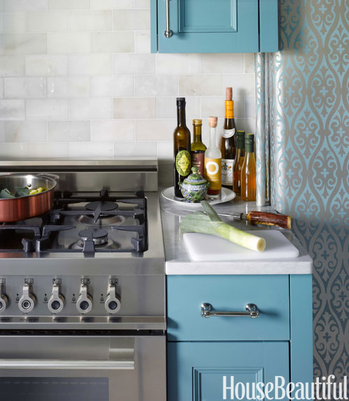 The Promise Of A Blue Kitchen...