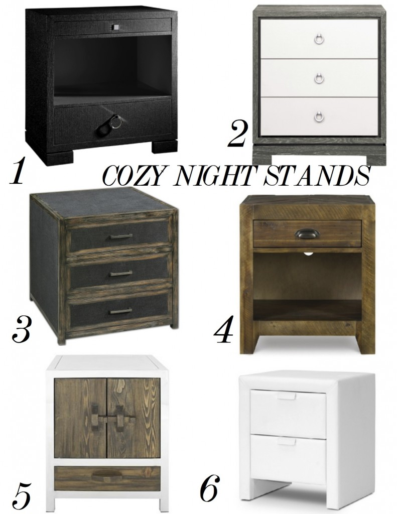 COZY NIGHT STANDS